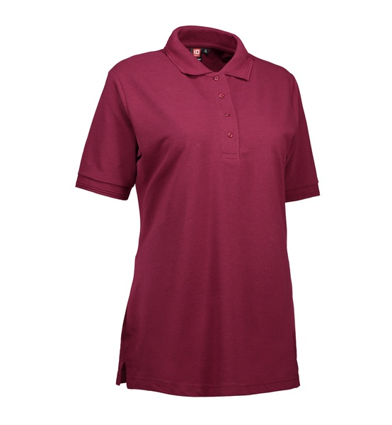 Pro Wear Damen Poloshirt 0321 Bordeaux  Front